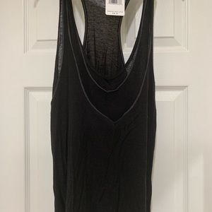 Free People Black Tank Top